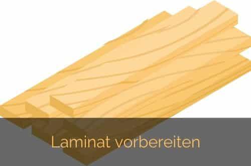 Laminat richtig verlegen #2 Laminatdielen vorbereiten
