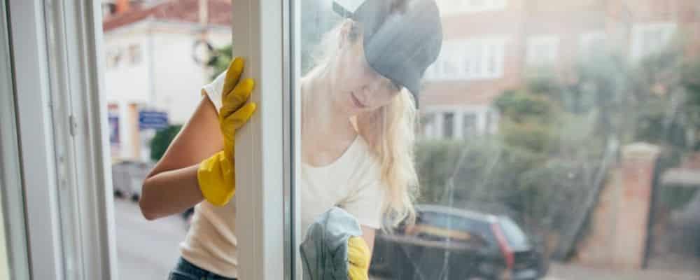 Tipps fuer das Fensterputzen
