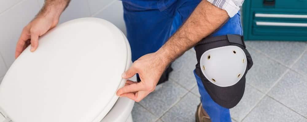 Toilettensitz deckel austauschen