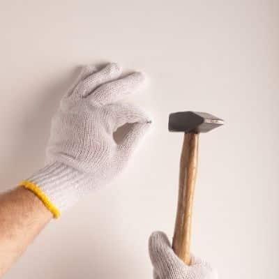 verwendung schlosserhammer nagel